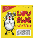 Luv Ewe inflatable Party Sheep