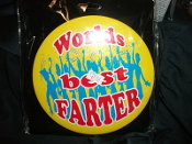 Badge - Worlds best Farter