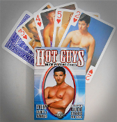 Hot Guys Nude Playing Cards