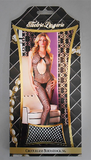 Electric Lingerie - Crotchless Bodystocking