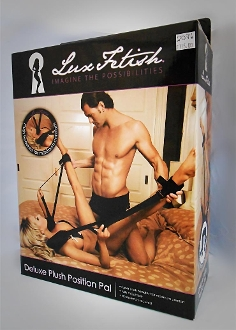 Lux Fetish - Deluxe Plush Position Pal (black)