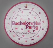 Bachelorette Party Plates