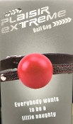 Plaisir Extreme Ball Gag - Red