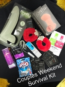 COUPLES WEEKEND SURVIVAL KIT- ONLINE ORDER/DELIVERY ONLY
