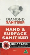 Diamond Sanitiser Hand & Surface (No Alcohol) 250ml Bottle